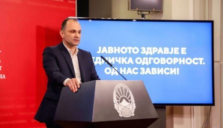 Kur do ta kuptojmë se virusi Korona është zhdukur në Maqedoni? Flet ministri Filipçe