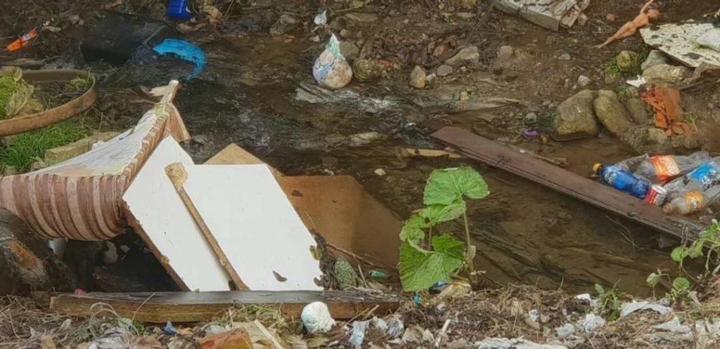 Banori i Ladorishtit për Struga Ekspres: Njerëz të pandërgjegjshëm hedhin mbeturina në lum dhe dëmtojnë shëndetin e banorëve (FOTO)