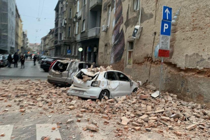 Shqiptari tregon momentin e frikshëm pas tërmetit që goditi Kroacinë (VIDEO)