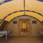 Spitali montuar në Shkup, ushtria vendos krevatet
