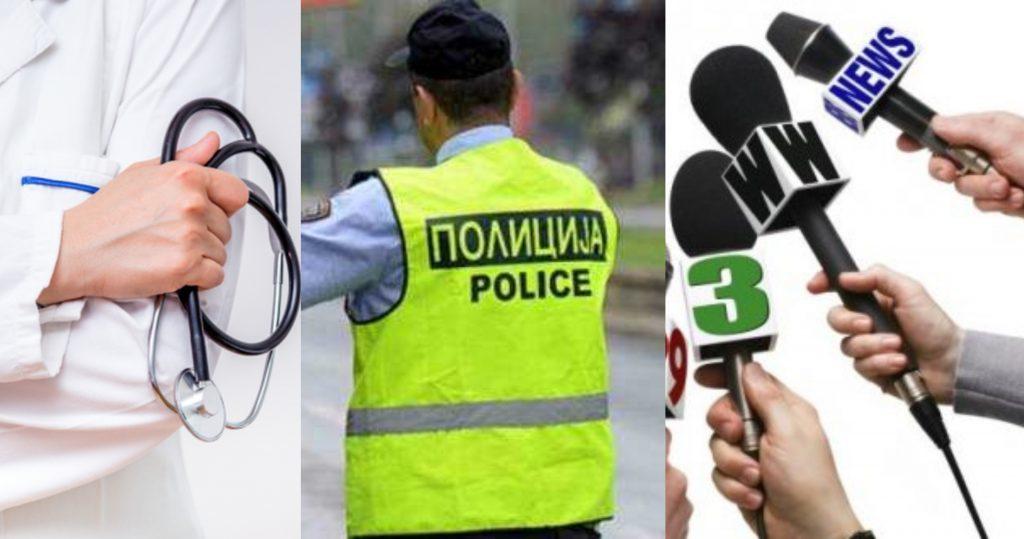 Mjekët, policët e gazetarët, më të rrezikuar nga virusi (VIDEO)
