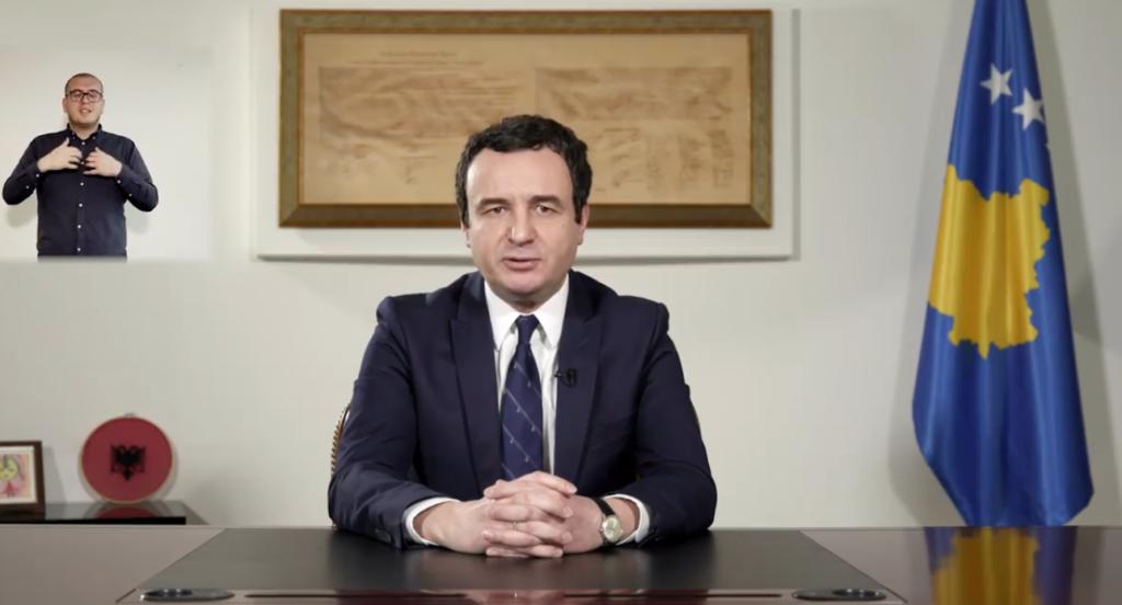 Albin Kurti: Qeveria u rrëzua pasi u kërkua një marrëveshje e shpejtë për copëtim të territoreve