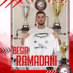 Struga Trim Lum, firmosi kontratë 3 vjeçare me Ramadanin