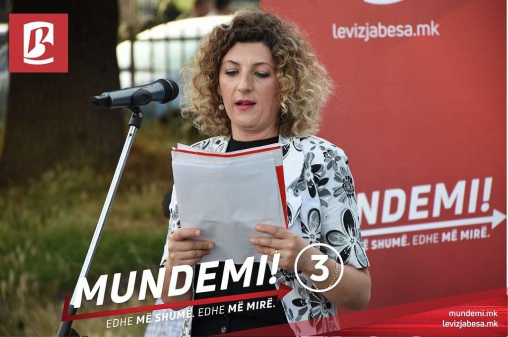 Kandidatja për deputete Melinda Rashidi dje vizitoi Llabunishtën
