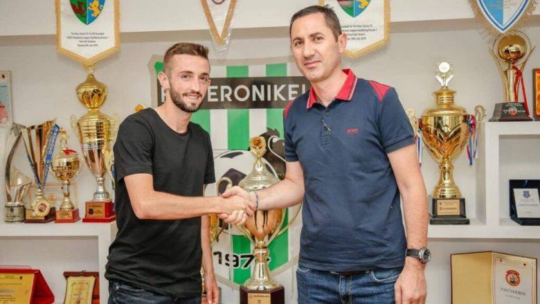 Besmir Bojku, futbollisti nga Veleshta e Strugës do të mbetet të luaj në Feronikel