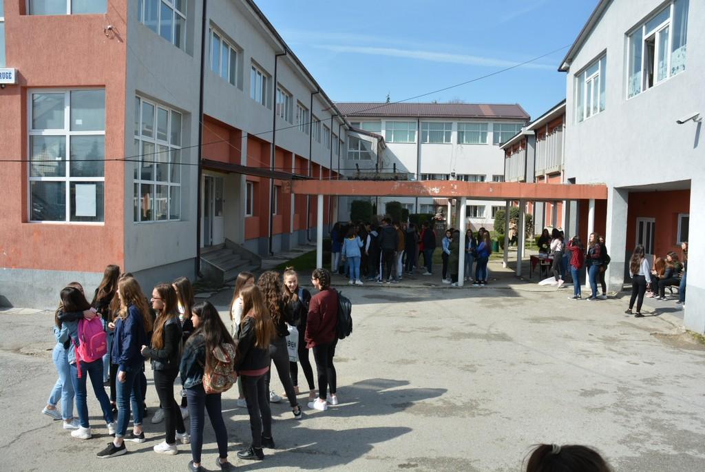 """Nxënësit e shkollave """"Ibrahim Temo"""" dhe """"Niko Nestor"""" në Strugë do të protestojnë kundër mësimit online dhe kërkojnë bojkotimin e mësimit"""