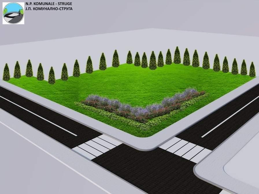 """Komunalja e Strugës do të ndërtojë park të ri te """"Plazhi i Femrave"""" (FOTO)"""