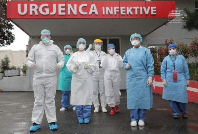 Që nga fillimi i pandemisë në Shqipëri, nga Covid-19 kanë vdekur 25 mjekë