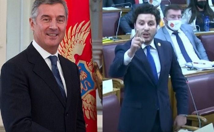 Abazoviq i thotë Gjukanoviçit në mes të parlamentit malazez: Do të arrestohesh shumë shpejtë! (VIDEO)