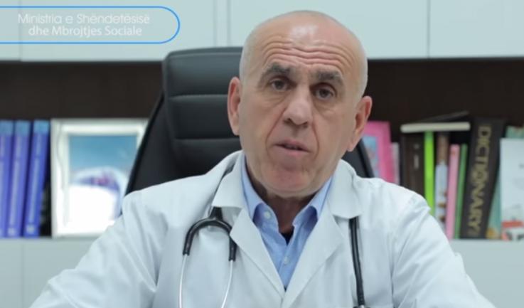 Mjeku Pëllumb Pipero infektohet me koronavirus