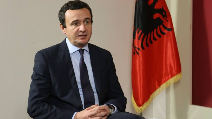 Albin Kurti është kryeministri i Kosovës