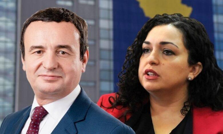 Albin Kurti: Vjosa Osmani duhet të jetë presidente e Kosovës