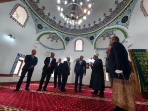 Myftiu Salim Sulejmani sot e mirëpriti ambasadorin e Turqisë (FOTO)