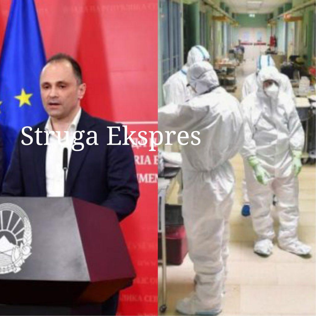 Venko Filipçe: 25 viktima dhe 62 raste të reja me koronavirus