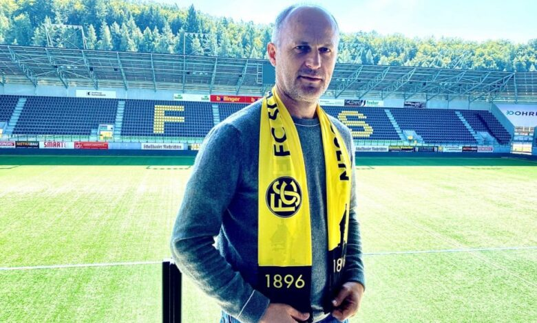 Artim Shaqiri,strugani që do të drejtojë ekipin zviceran F.C Schaffhausen
