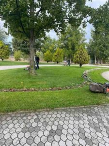 Komunalja në aksion për pastrimin e rrugëve të Strugës(FOTO)
