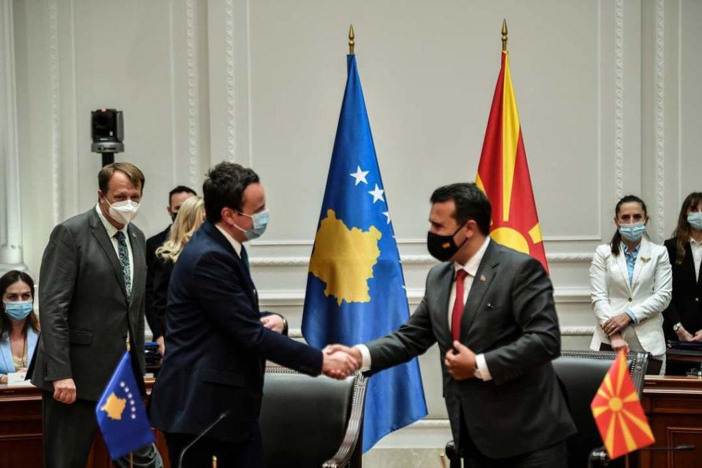 Këto janë 11 marrëveshjet e nënshkruara mes Kosovës dhe Maqedonisë së Veriut