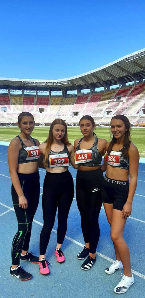 """Shkëlqejnë sportistet e """"DRINI""""-Strugë në Kupën e Maqedonisë në Atletikë"""