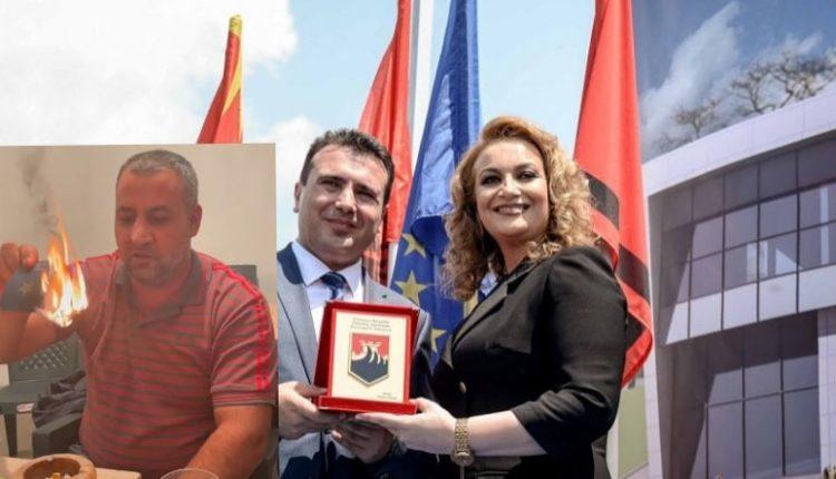 Qytetari i revoltuar djeg librezën e LSDM dhe akuzon Zaevin dhe Halimin (VIDEO)