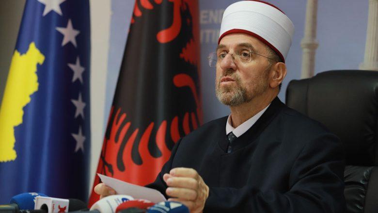 Myftiu Naim Tërnava ftoi besimtarët të vaksinohen