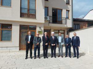 Salim Sulejmani mirëpriti Konsullin e Përgjithshëm të Republikës së Kosovës në Strugë (FOTO)