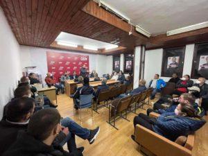 BDI-Strugë: Arrihet marrëveshje për vazhdimësi të koalicionit mes BDI-së dhe LSDM-së për Strugën (FOTO)